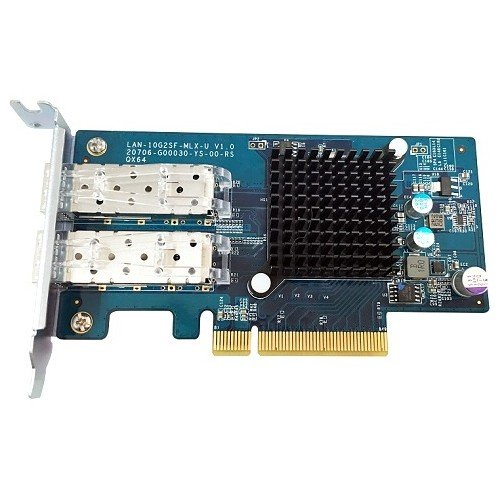 QNAP Dual Port 10GbE SFP Nec LAN-10G2SF-MLX