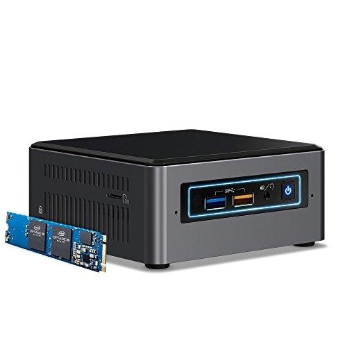 Intel BOXNUC7I5BNHX1 NUC Kit with 16GB Optane Memory Preinstalled Desktop Computer Barebones System