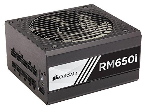 Corsair RMi Series, RM650i, 650 Watt, Fully Modular Digital Power Supply, 80+ Gold Certified