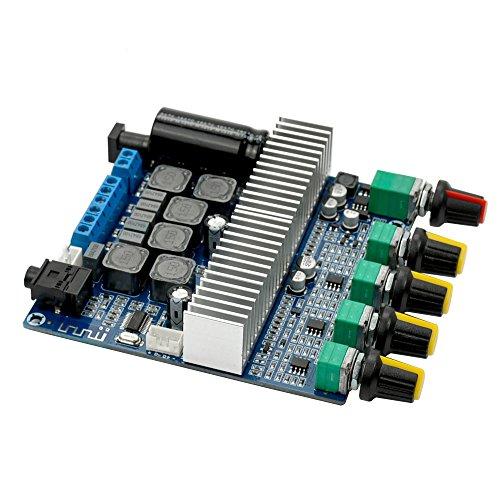 DC12V-24V 2.1 Channel TPA3116 Subwoofer Amplifier Board High Power Bluetooth Audio Amplifier Board 2x50W+100W2x50W+100W