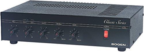 Bogen C35 | 35-Watt Classic Series Public Address Amplifier