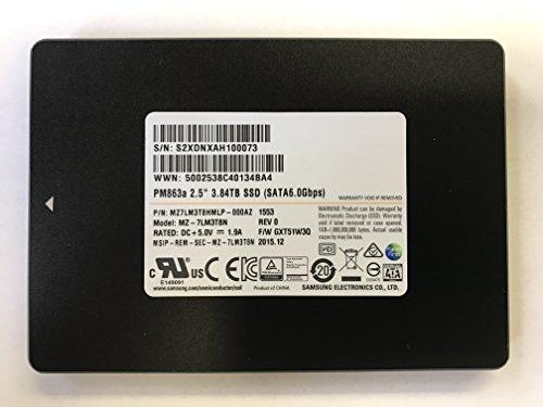 Samsung PM863a 3.84TB SATA 6Gb/s 2.5″ Enterprise Internal SSD MZ-7LM3T8N