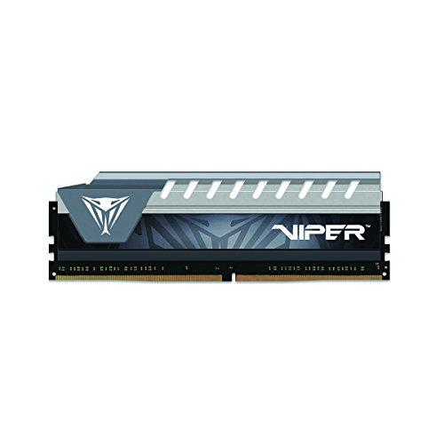 Patriot Viper Elite Series DDR4 8GB PC4-21300 2666 MHz Memory Module Black/Grey