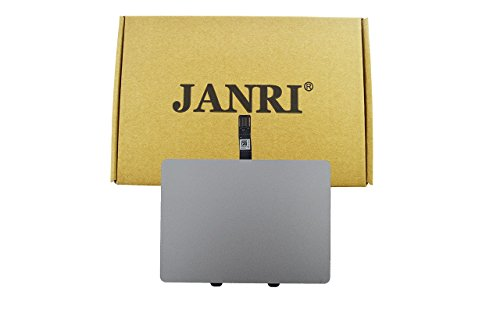 JANRI Replacement Trackpad Touchpad with cable for Macbook Pro Unibody 13-inch early mid late 2009 2010 2011 2012 A1278 MB990LL/A MB991LL/A MC724LL/A MC374LL/A MC375LL/A MD102LL/A MC700LL/A