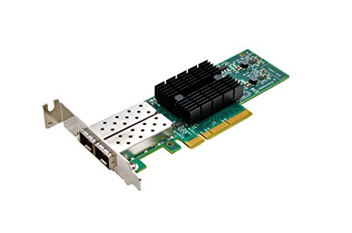 Synology Dual-Port 10GB SFP+ PCIe 3.0 X8 Ethernet Adapter E10G17-F2