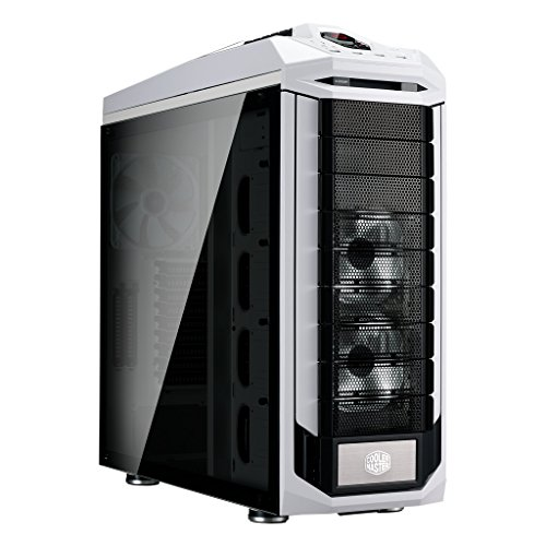 Cooler Master SGC-5000W-KWN2 Stryker SE Full-Tower Case, Tempered Glass, VGA Vertical Display, Carrying Handle, LED, USB 3.0
