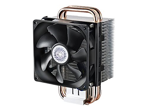 Compact CPU Cooler with Dual Looped Direct Contact Heatpipes, INTEL/AMD with AM4 Support – Cooler Master RR-HT2-28PK-R1 Hyper T2