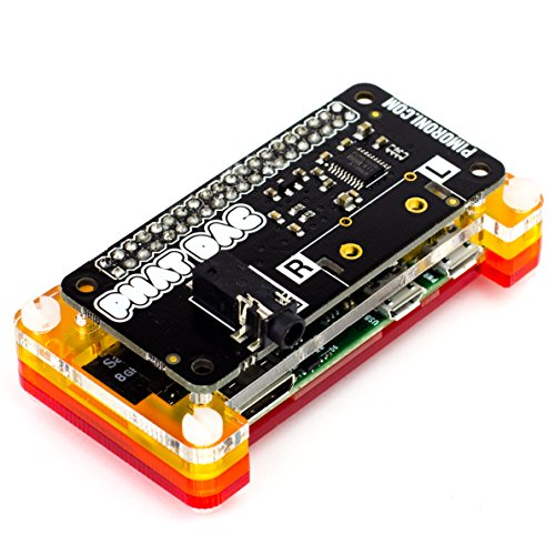 Pimoroni pHAT DAC 24-bit/192KHz Sound Card for Raspberry Pi Zero / A+ / B+ / Raspberry Pi 2 Model B