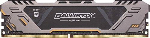 Ballistix Sport at 16GB Kit 8GBx2 DDR4 3000 MT/s PC4-24000 SR x8 DIMM 288-Pin Gaming Memory – BLS2K8G4D30CESTK