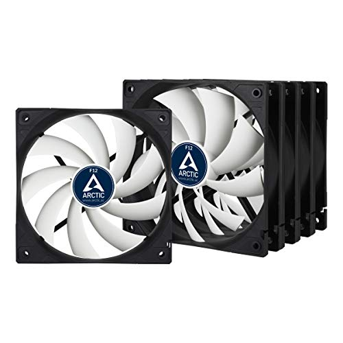 ARCTIC F12 – 120 mm Standard Case Fan | Ultra Low Noise Cooler | Silent Cooler with Standard Case | Push- or Pull Configuration possible