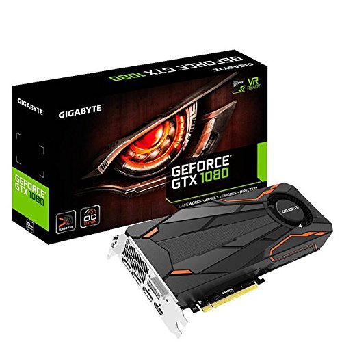 Gigabyte GeForce GTX 1080 Turbo OC 8GB Video Graphics Cards GV-N1080TTOC-8GD