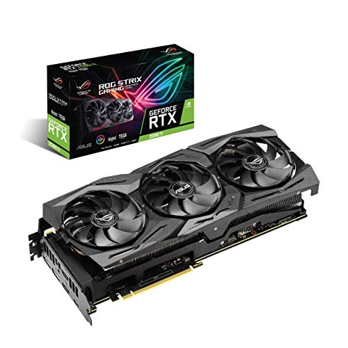 ASUS ROG Strix GeForce RTX 2080Ti Advanced A11G GDDR6 HDMI DP 1.4 USB Type-C ROG Strix RTX 2080Ti A11G Graphic Cards ROG-STRIX-RTX2080TI-A11G-GAMING