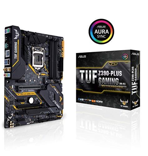 ASUS TUF Z390-Plus Gaming Wi-Fi LGA1151 Intel 8th 9th Gen DDR4 DP HDMI M.2 Z390 ATX Motherboard 802.11ac Wi-Fi USB 3.1 Gen2