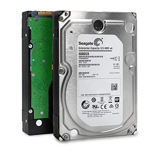 Seagate Enterprise Capacity 3.5 HDD| ST6000NM0034 | 6TB 7.2K RPM SAS 12Gb/s 128MB Cache 3.5″ | 512n | Enterprise Hard Disk Drive for Hyperscale Applications Certified Refurbished w/ 3 Year Warranty