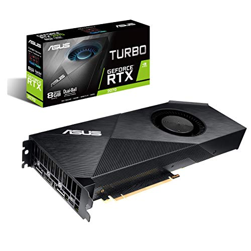 ASUS GeForce RTX 2070 8G Turbo Edition GDDR6 HDMI DP 1.4 USB Type-C Graphic Card TURBO-RTX2070-8G