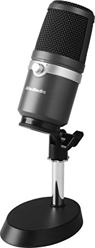 AVerMedia USB Multipurpose Microphone, for Recording, Streaming or Podcasting AM310