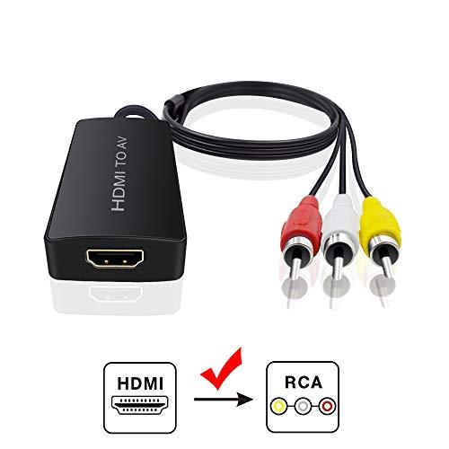 Duttek 5 feet/1 5m USB 2 0 Female to 3 RCA Male Video A/V