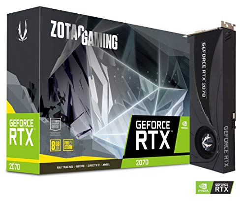 ZOTAC Gaming GeForce RTX 2070 Blower 8GB GDDR6 256-bit Dual Slot Gaming Graphics Card – ZT-T20700A-10P