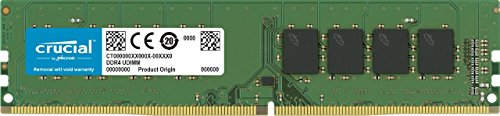 Crucial 8GB Single DDR4 2666 MT/s PC4-21300 SR x8 DIMM 288-Pin Memory – CT8G4DFS8266