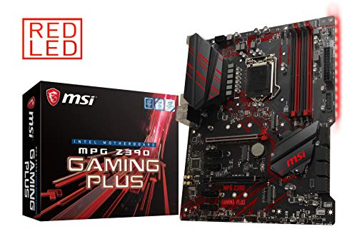 MSI MPG Z390 Gaming Plus LGA1151ATX Z390 Gaming Motherboard Z390GAMINGP