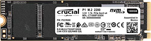 CT1000P1SSD8 – Crucial P1 1TB 3D NAND NVMe PCIe M.2 SSD