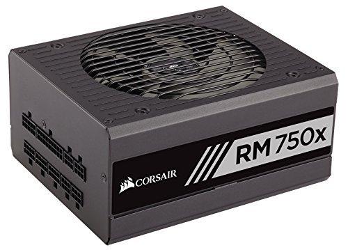 CORSAIR RMx Series, RM750x, 750 Watt, Fully Modular Power Supply, 80+ Gold Certified Certified Refurbished