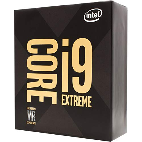 Intel Core i9-9980XE Extreme Edition Processor 18 Cores up to 4.4GHz Turbo Unlocked LGA2066 X299 Series 165W Processors 999AD1