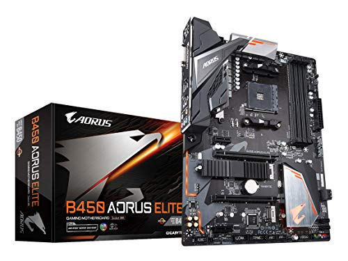 GIGABYTE B450 AORUS Elite AMD Ryzen AM4/ M.2 Thermal Guard/HMDI/DVI/USB 3.1/DDR4/ATX/Motherboard