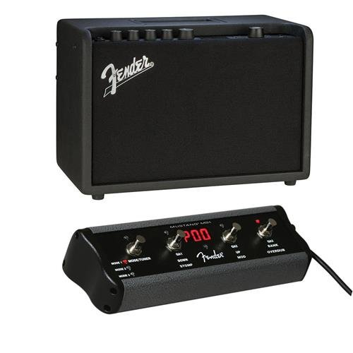 Fender Mustang GT 40 40W 2X 20W in Stereo WiFi Digital Amplifier with 21 Amp Models, 46 Effects 4-Button Footswitch for Mustang Amplifier