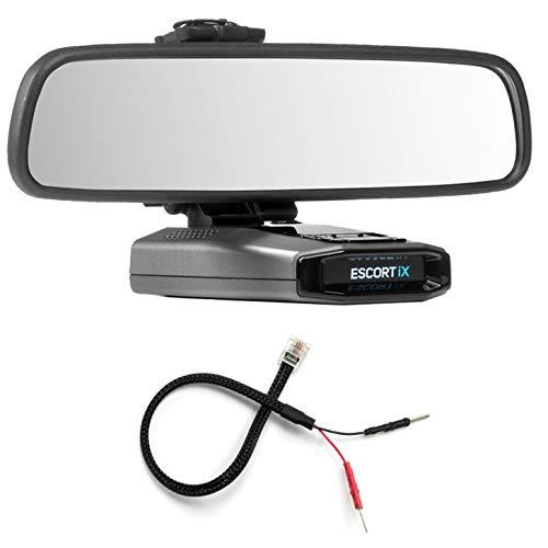 Radar Mount Mirror Mount Bracket + Mirror Wire Power Cord for Escort IX EX Max360C 3001107
