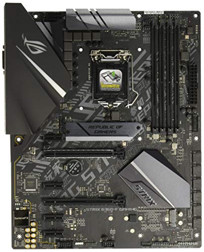 ASUS ROG Strix B360-F Gaming LGA1151 300 Series DDR4 DP HDMI DVI M.2 ATX Motherboard