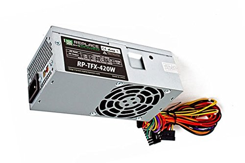 Fits: Dell Inspiron 530S, 531S, 537S, 546ST – New Slimline Power Supply Upgrade for SFF Desktop Computer