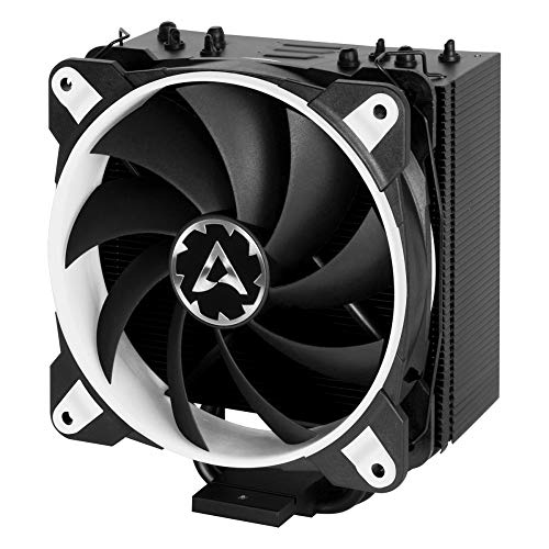 for CPUs up to 200 Watts TDP – Tower CPU Cooler with 120 mm PWM Processor Fan for Intel and AMD Sockets – ARCTIC Freezer 33 Esports ONE – Silent and Efficient White