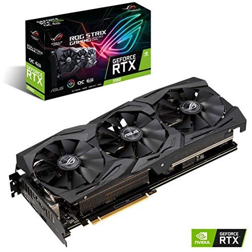 ASUS ROG Strix GeForce RTX 2060 Overclocked 6G GDDR6 HDMI DP 1.4 ROG Strix RTX 2060 O6G