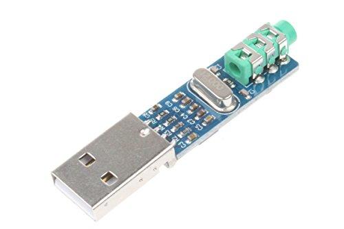 NOYITO USB DAC Decoder Board PCM2704 Mini USB Sound Card DAC Decoder Board – 5V USB Power