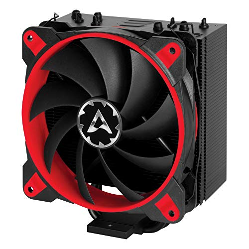 for CPUs up to 200 Watts TDP – Tower CPU Cooler with 120 mm PWM Processor Fan for Intel and AMD Sockets – ARCTIC Freezer 33 Esports ONE – Silent and Efficient Red