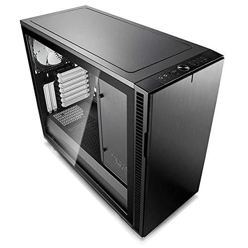 Fractal Design FD-CA-DEF-R6C-BK-TGL Computer Case Define R6 USB-C Black TG No Power Supply ATX Mid Tower with Window