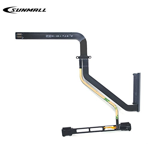 SUNMALL HDD Hard Drive w/IR/Sleep/HD Cable Replacement with Bracket 922-9771 821-1226-a for Apple MacBook Pro Unibody 13″ A1278 2011 Year MB990LL/A MB991LL/A MC374LL/A MC375LL/A