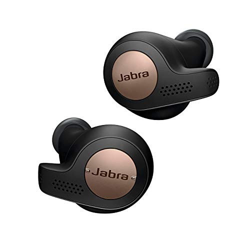 Jabra Elite Active 65t True Wireless Sports Earbuds with 3 Months Free Amazon Music Unlimited & Charging Case, Alexa Optimized – Copper Black