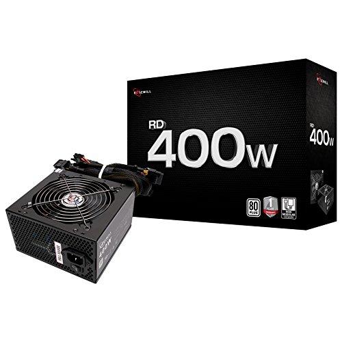 Rosewill Stallion Series 400W ATX 12V v2.2 Power Supply ATX12V 400 Power Supply RD400-2-SB