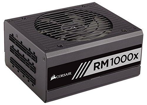 CORSAIR RMx Series, RM1000x, 1000 Watt, 80+ Gold Certified, Fully Modular Power Supply Certified Refurbished