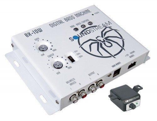 Soundstream BX-10W Digital Bass Reconstruction Processor with Remote White
