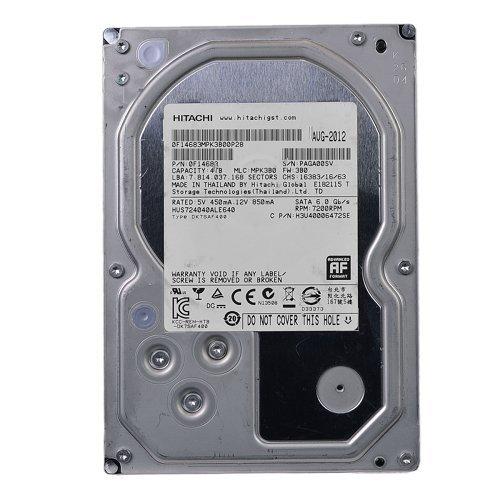 0F14683 Certified Refurbished – Hitachi Ultrastar 7K4000 4 Terabyte 4TB SATA 7200RPM 64MB Hard Drive