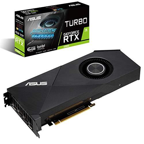 ASUS GeForce RTX 2060 6G Turbo Edition GDDR6 HDMI DP 1.4 Turbo RTX2060-6G