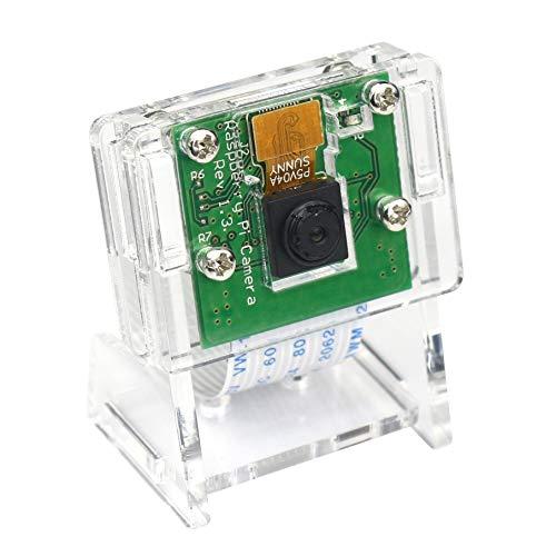 5MP 1080P Video Camera Module for Raspberry Pi 3 b+, Pi Zero W Camera with Case Flex Cable Camera + Holder