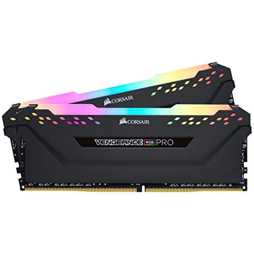 Corsair Vengeance RGB Pro 16GB 2 x 8GB 288-Pin DRAM DDR4 3000 PC4 24000 CMW16GX4M2D3000C16