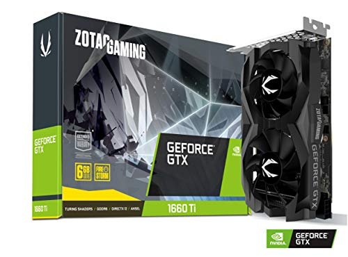 ZOTAC Gaming GeForce GTX 1660 Ti 6GB GDDR6 192-bit Gaming Graphics Card Super Compact – Zt-T16610F-10L