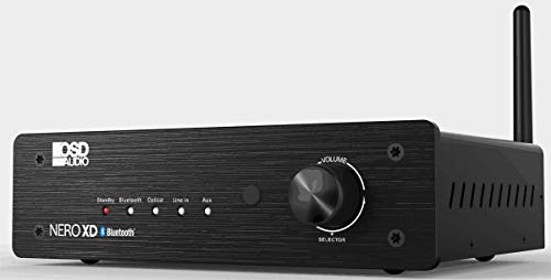 OSD Audio Nero-XD 200W HiFi DAC 2-Channel Class D Stereo Power Amplifier w/Bluetooth Wireless, Optical, RCA, 3.5MM Inputs, Remote Control