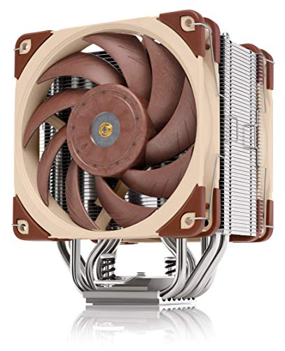 Noctua NH-U12A, Premium 120mm CPU Cooler with High-Performance Quiet NF-A12x25 PWM Fans Brown