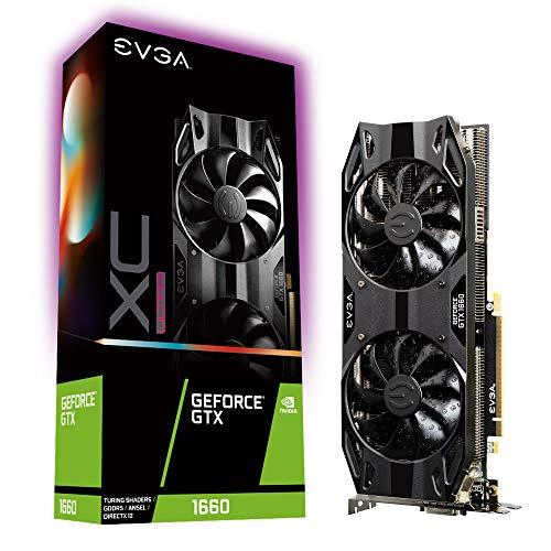 EVGA GeForce GTX 1660 XC Ultra Gaming, 6GB GDDR5, HDB Fan, 06G-P4-1167-KR